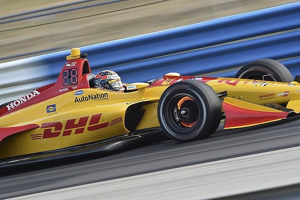 IndyCar Hunter-Reay mène les essais de Sebring mais reste inquiet