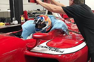 Indy Lights Nieuws Van Kalmthout maakt testdebuut in Indy Lights