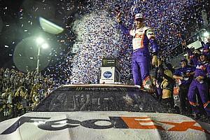 Denny Hamlin wins 2019 Daytona 500; JGR goes 1-2-3