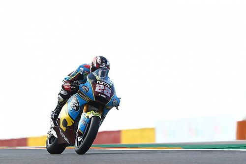 Aragon Moto2: Lowes wins again as VR46 duo crash out