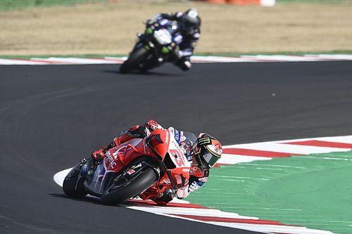 Bagnaia voudrait une règle sur les tear-off en MotoGP