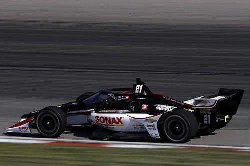 VeeKay satisfied in IndyCar, has interest from rival teams