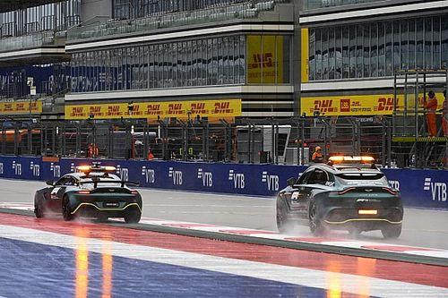 La pluie est annoncée à Sotchi, la F1 s'adapte