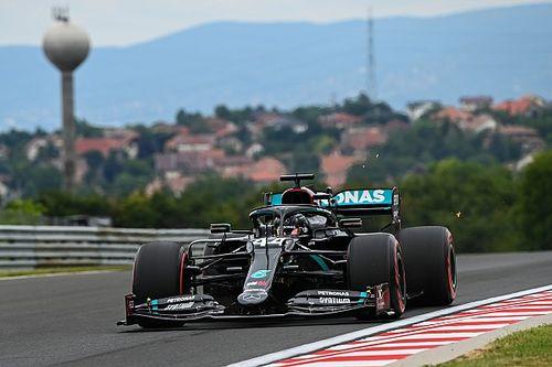 匈牙利大奖赛FP1:梅赛德斯一骑绝尘包揽前二