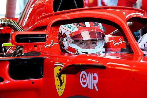 Леклер превзошел время Шварцмана на тестах Ferrari