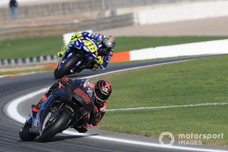 Rossi, felicitado por sus