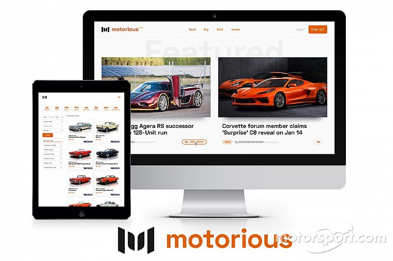 Motorsport Network ve Speed Digital, Motorious.com'u hayata geçiriyor