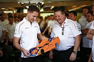 Vandoorne, McLaren'a güçlü bir yarışla veda ettiği için mutlu