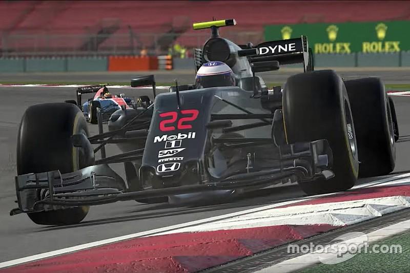Le trailer du jeu F1 2016 et une nouvelle caméra embarquée