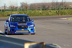 TCR Deutschland News Erfolgreicher Test des Subaru STi TCR in Cremona