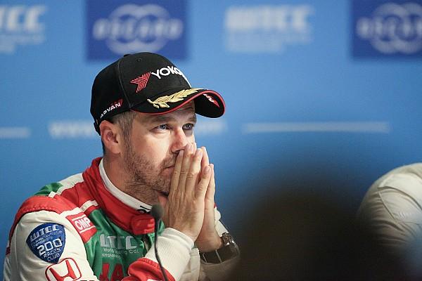 WTCC Noticias de última hora Monteiro tampoco estará en el WTCC de Macao