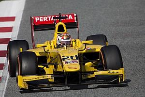 FIA F2 Laporan tes Nato tutup tes pramusim F2 di posisi teratas, Gelael P7