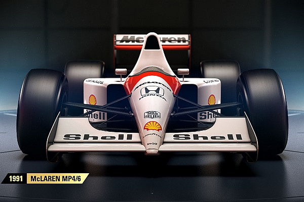 Sim racing Top List VIDEO: coches clásicos que incluirá el F1 2017