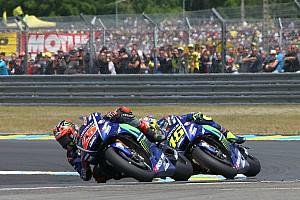 MotoGP Reactions Vinales bermaksud menyalip Rossi di tikungan terakhir