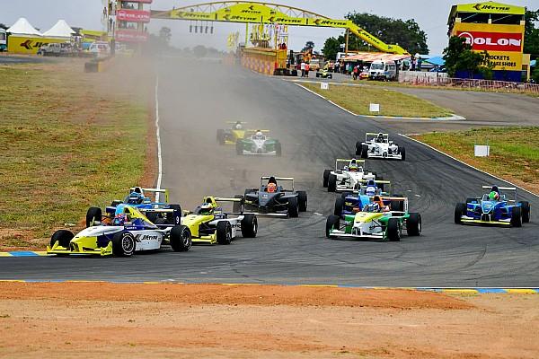 Indian Open Wheel Breaking news New JK Tyre Racing season to begin in July