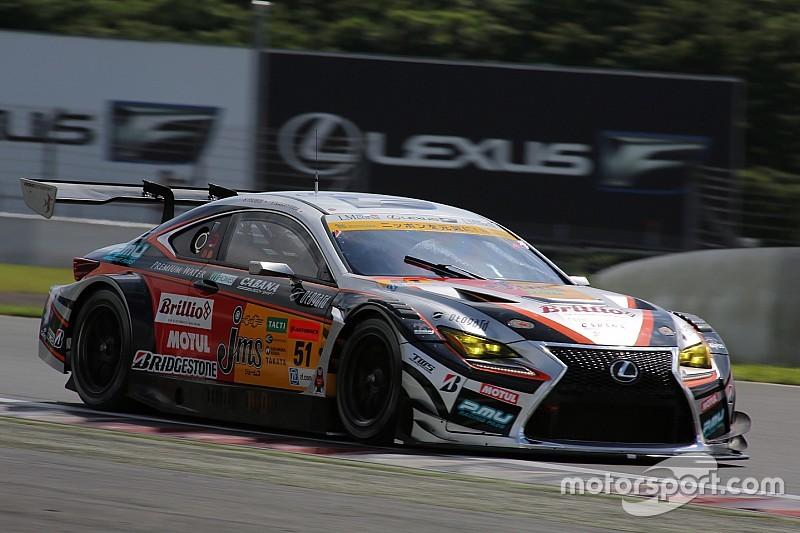 【スーパーGT】#51 JMS LMcorsa RC F GT3、想定以上の低い路面温度に苦しみ17位