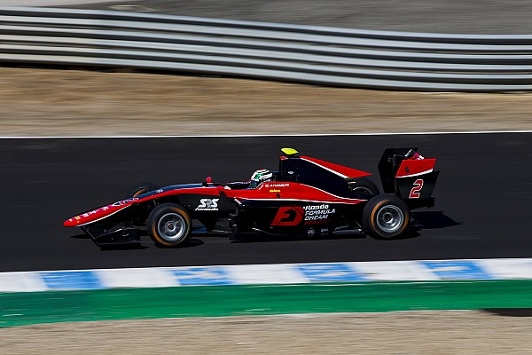 Jerez GP3: Fukuzumi wins, Russell beats Aitken to second