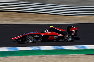 GP3 Race report Jerez GP3: Fukuzumi wins, Russell beats Aitken to second