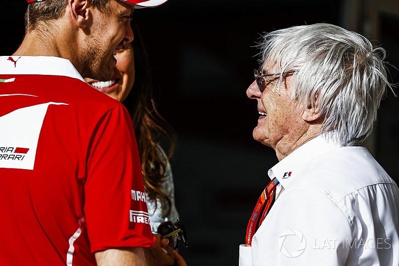 """Bernie Ecclestone gibt zu: """"Wir wollten alle, dass Ferrari gewinnt"""""""