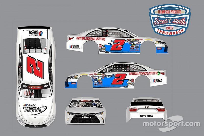NASCAR presenta imagen especial para la Busch North