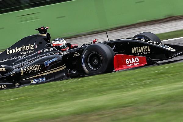 René Binder centra una grande doppietta nelle due gare di Monza