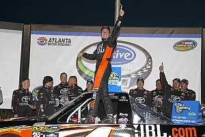 NASCAR Truck Race report Christopher Bell sweeps all three stages in Atlanta Truck win