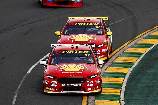 Supercars Résumé de course Les Ford Falcon brillent à Melbourne