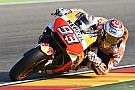 MotoGP Aragon MotoGP: Marquez tops shortened warm-up
