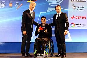 General Noticias de última hora Lascorz recibe el Trofeo María de Villota a la superación