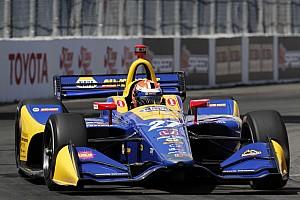 IndyCar 速報ニュース ロングビーチ決勝:ロッシ、ポールから完勝。佐藤琢磨またしても不運