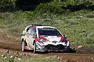 WRC Toyota, Citroën et Hyundai au départ du Rallye d'Estonie