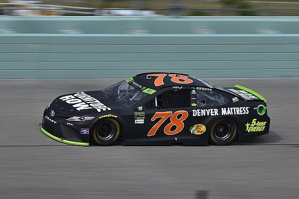NASCAR Cup Truex señala que dejaron de ser nadie para volverse contendientes