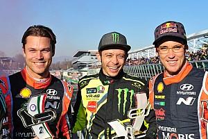 Rallye Reaktion Valentino Rossis sechster Monza-Sieg: