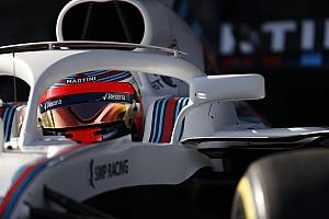 Відео: Кубіца за кермом Williams FW41