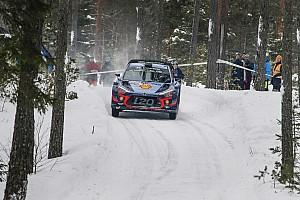 WRC Leg report Sweden WRC: Neuville holds narrow lead over Breen