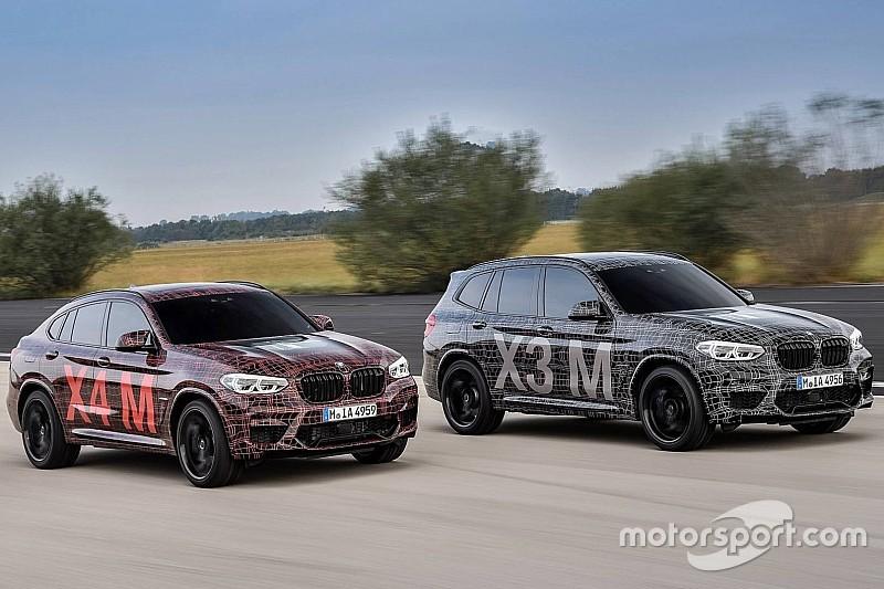 BMW X3 M та X4 M офіційно представлені у вигляді закамуфльованих прототипів