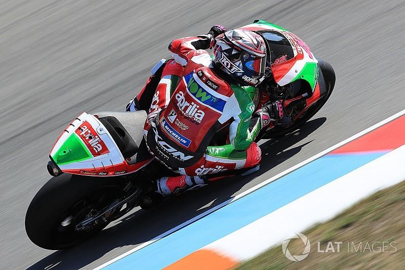 Еспаргаро: Сьогодні мотоцикл Aprilia неконкурентний