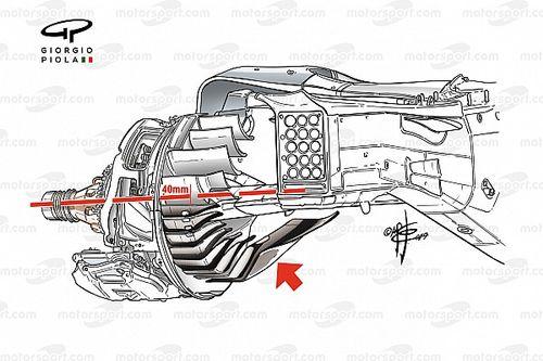 F1 2021: menos carga aerodinámica, ¿será suficiente?