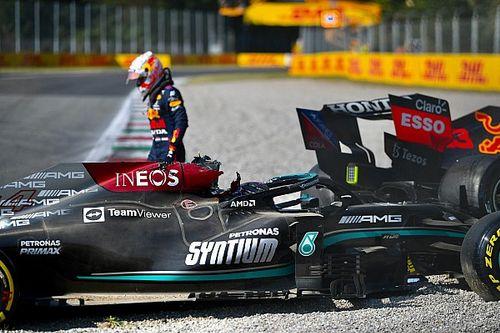 """Verstappen: People """"hypocritical"""" over Monza crash walkaway"""