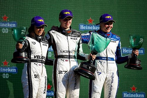 W Series: Powell gana en Zandvoort; Nerea Martí y Belén García, top 10