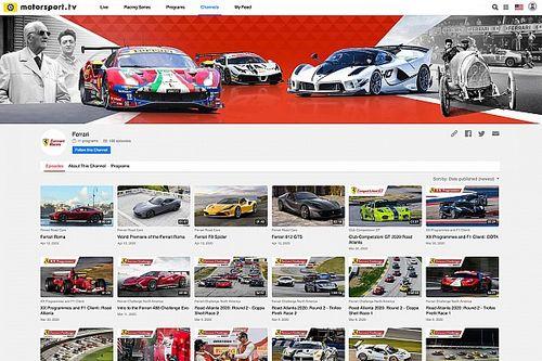 Ferrari: nasce un canale dedicato su Motorsport.tv!