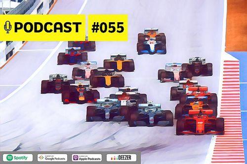 """Podcast #055 – A F1 está de volta! Saiba tudo sobre o """"novo normal"""" da categoria"""