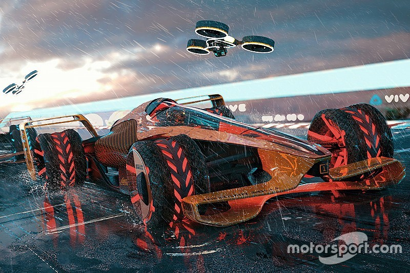 McLaren presents extreme 2050 grand prix concept