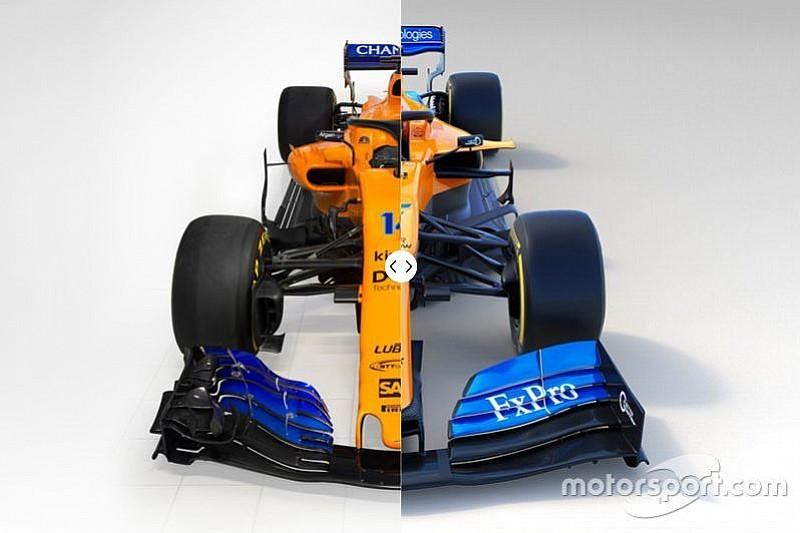 In beeld: vergelijk de nieuwe McLaren MCL34 met de 2018-auto