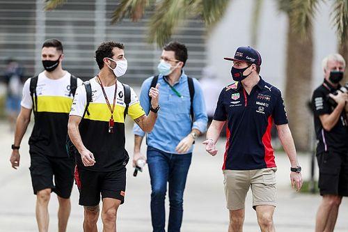 Beda Tim, Ricciardo Ingin Bersahabat dengan Verstappen