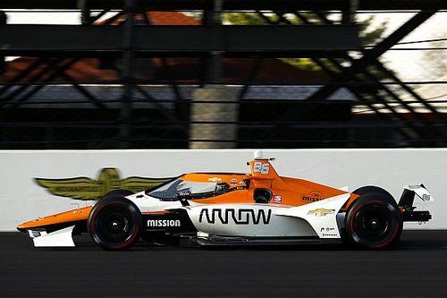 Montoya, Indy 500 testinde göründüğü kadar rahat değilmiş