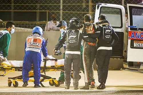 F1代理医疗代表罗伯茨描述救援经过