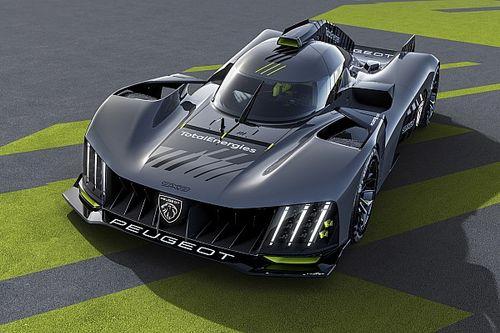 Peugeot, arka kanatsız yeni Le Mans hiper aracının ilk görüntülerini yayınladı!
