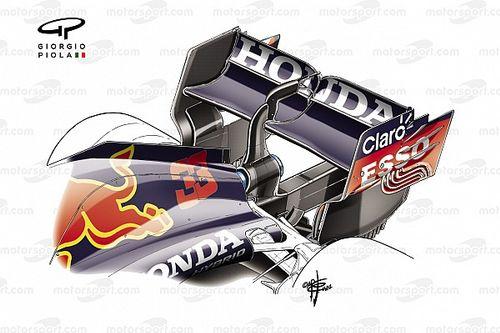 Wat is het verhaal achter de 'flexibele' vleugel van Red Bull?