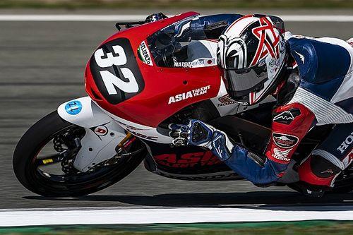 Takuma Matsuyama Debut Moto3 di Prancis